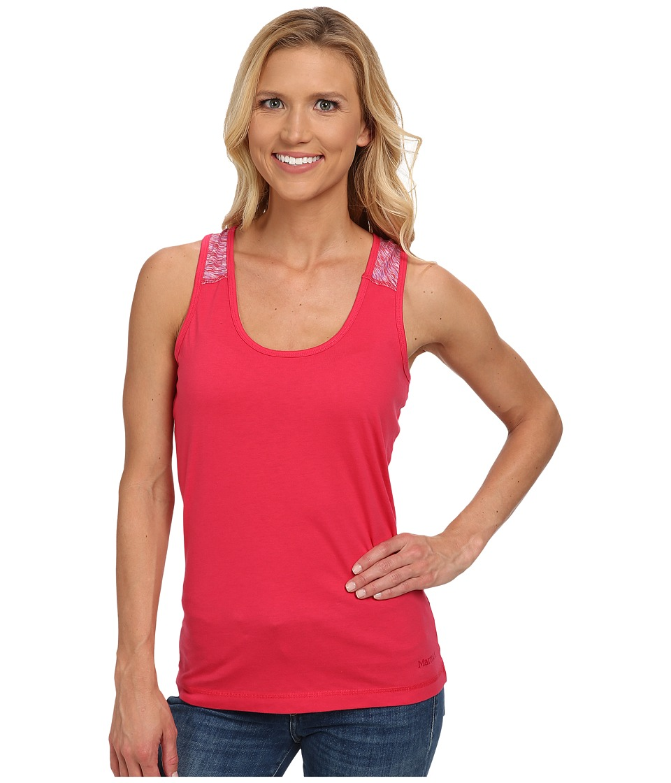 Marmot - Bella Tank (Summer Pink) Women's Sleeveless