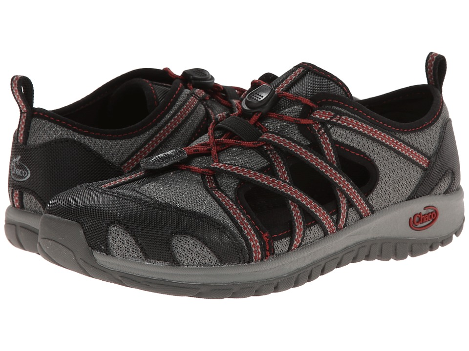 Chaco Kids - Outcross (Toddler/Little Kid/Big Kid) (Gunmetal) Boys Shoes