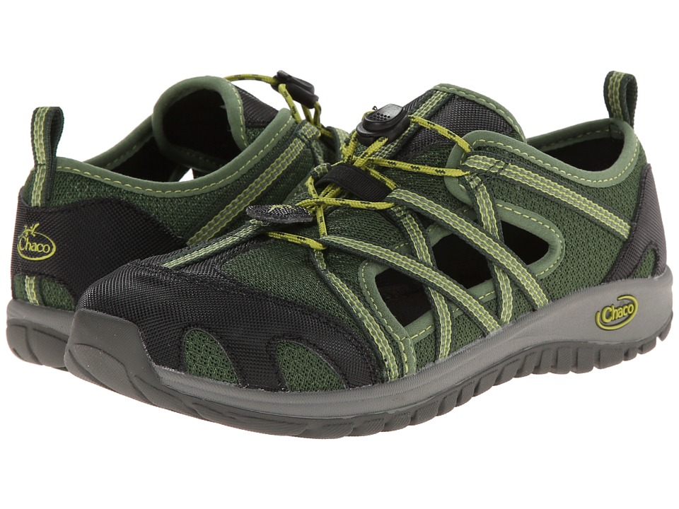Chaco Kids - Outcross (Toddler/Little Kid/Big Kid) (Black Forest) Kids Shoes