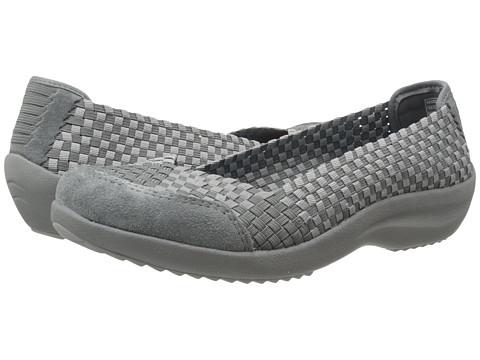SKECHERS - Savor - Just Weave It (Charcoal) Women's Slip on Shoes