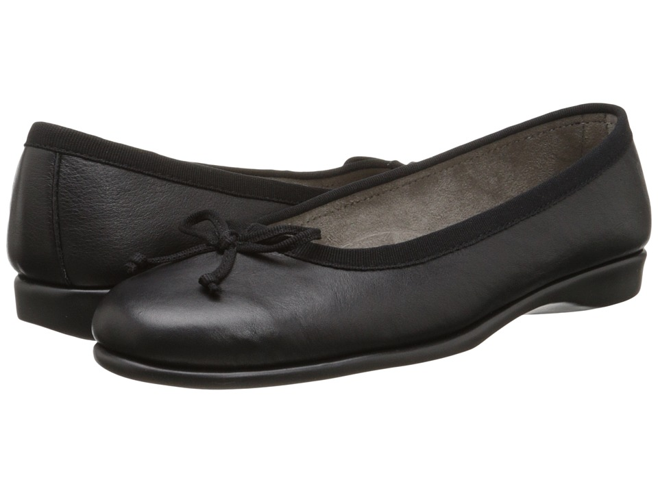 Aerosoles - Teashop (Black Soft) Women's Slip on Shoes