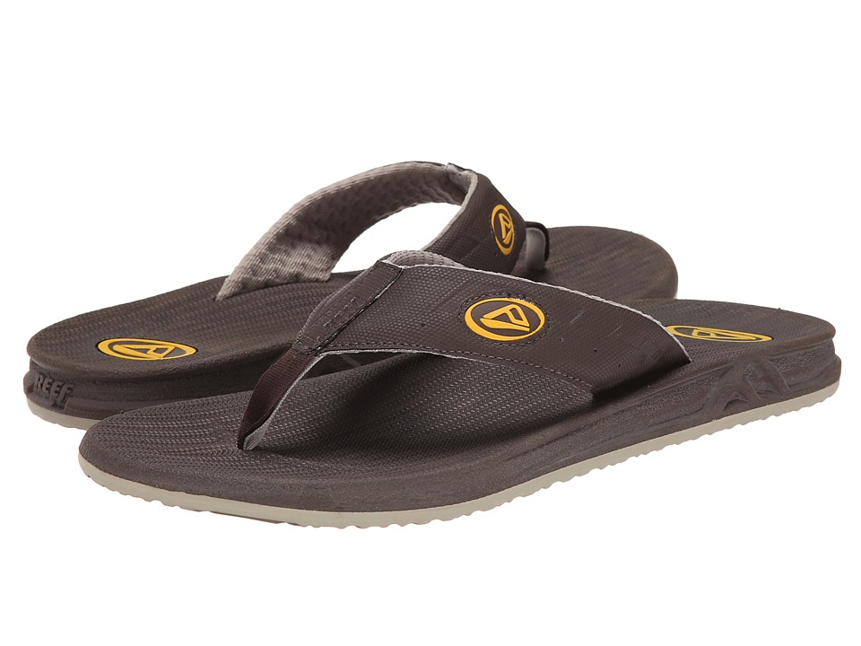 Reef - Phantom Prints (Brown/Wood) Men's Sandals