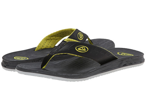 Reef - Phantom Prints (Grey Wood) Men's Sandals