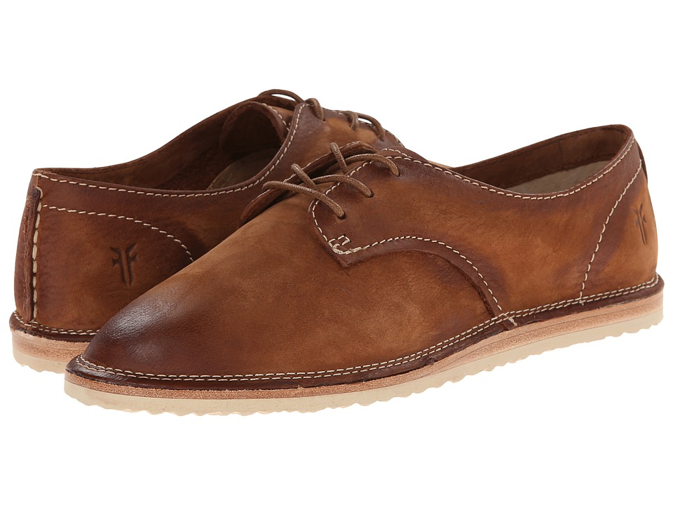 Frye - Milly Oxford (Cognac Sunwash Nubuck) Women's Lace up casual Shoes