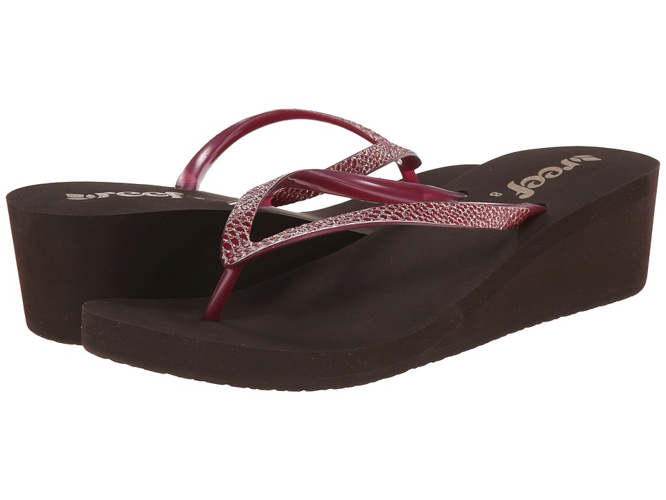 Reef Krystal Star Sassy (Brown/Berry) Women
