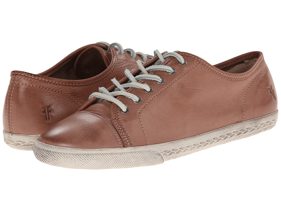 Frye - Mindy Low (Dusty Rose Soft Vintage Leather) Women's Lace up casual Shoes