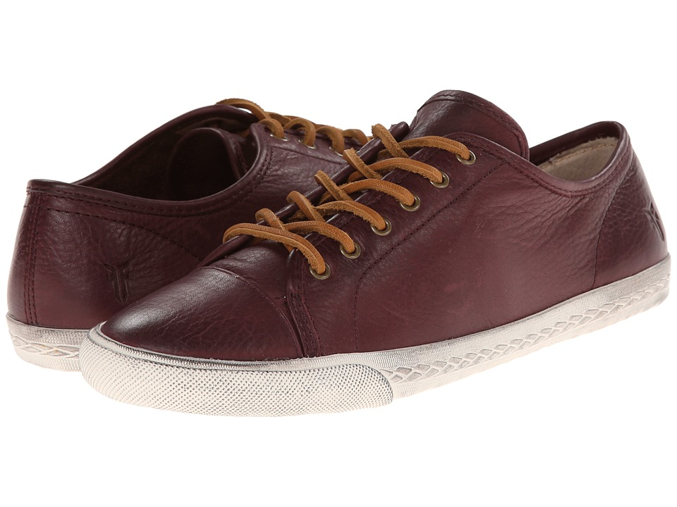 Frye - Mindy Low (Plum Soft Vintage Leather) Women's Lace up casual Shoes