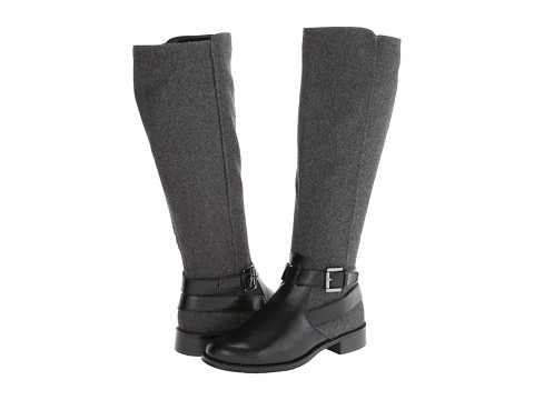 Aerosoles - With Pride (Wide Calf) (Black Combo) Women's Zip Boots