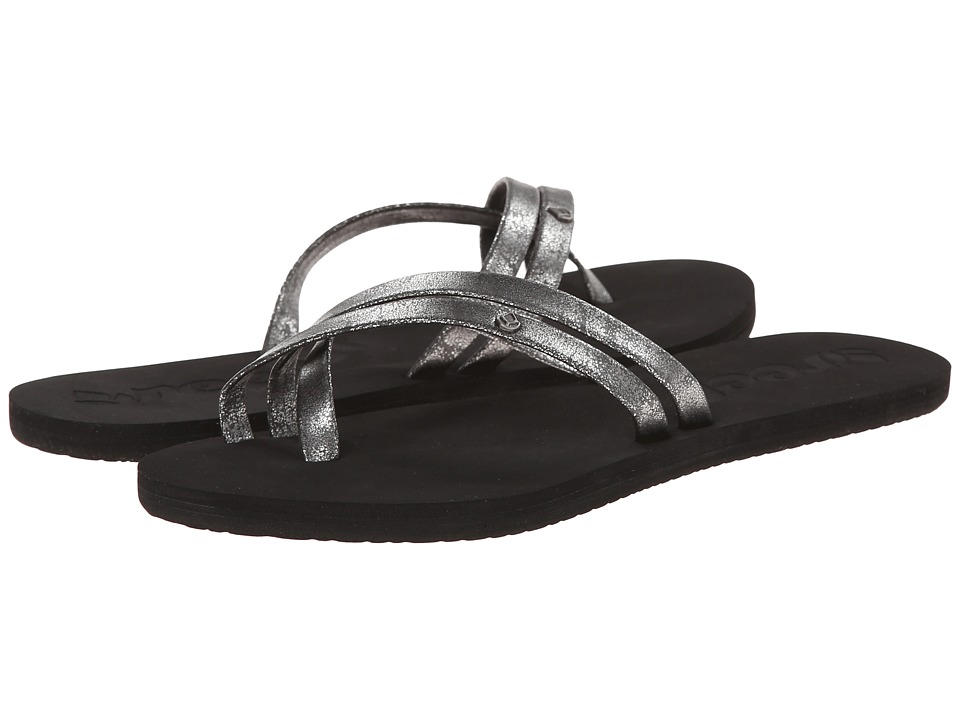 Reef - O'Contrare (Black/Silver) Women's Sandals
