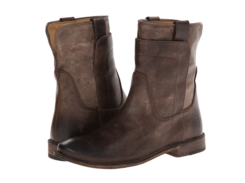 Frye - Paige Short Riding (Slate Antique Pull Up) Women