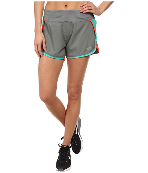 The North Face - GTD Running Short (Sedona Sage Grey/Billiard Green) Women