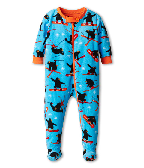 Hatley Kids - Footed Fleece Coverall (Infant/Toddler) (Extreme Bears) Boy