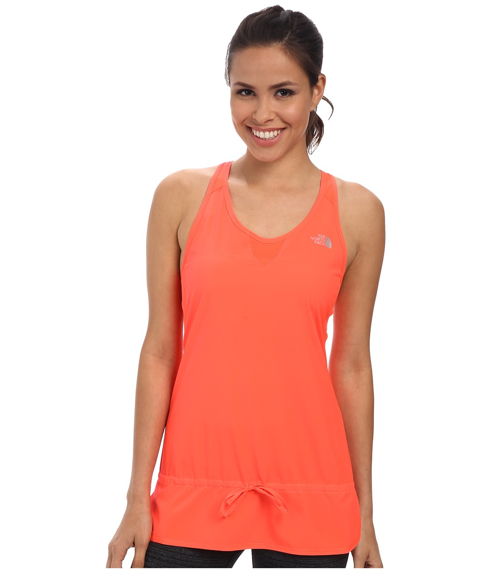The North Face - GTD Woven Tank (Fiery Coral) Women