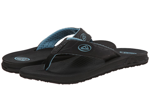 Reef - Phantoms (Black/Reef Waters) Men's Sandals