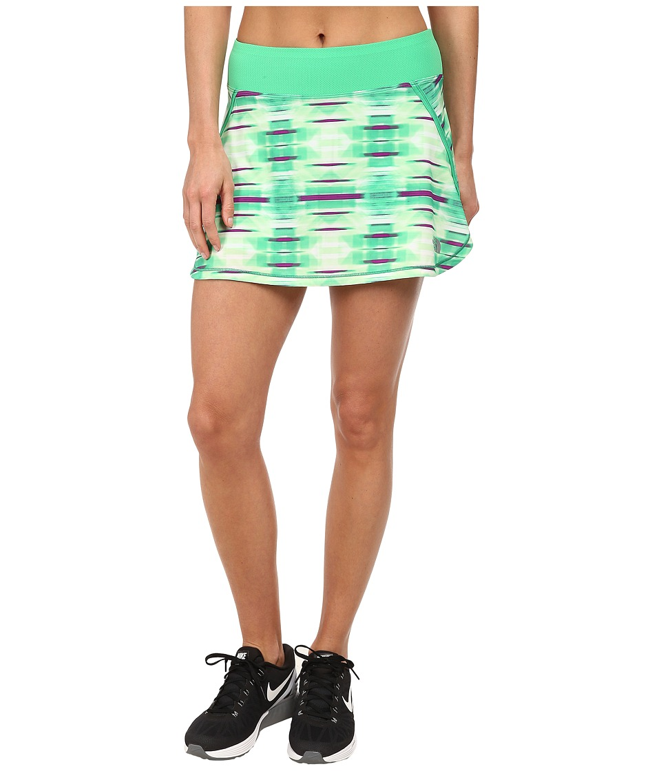 The North Face - Eat My Dust Skirt (Surreal Green Brushed Plaid) Women's Skort