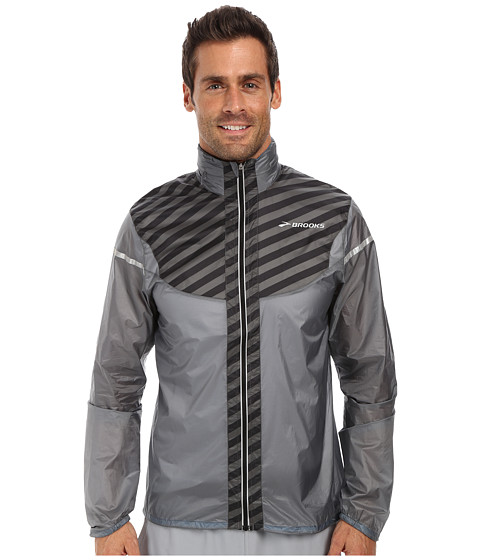 Brooks - LSD Lite Jacket IV (Mako/Small Black Stripe) Men