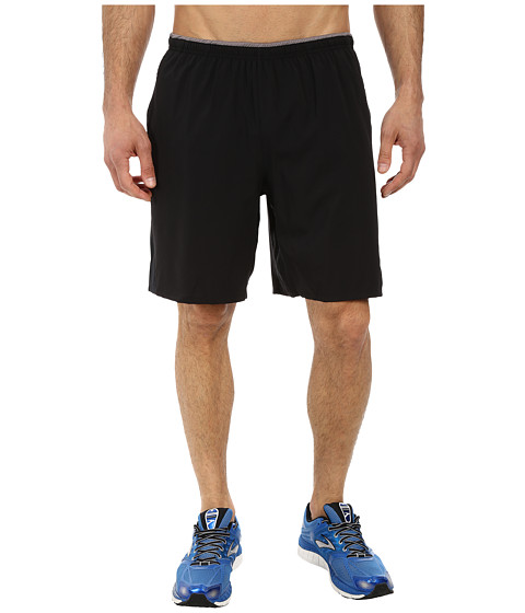 Brooks - Sherpa IV 9 Short (Black) Men's Shorts