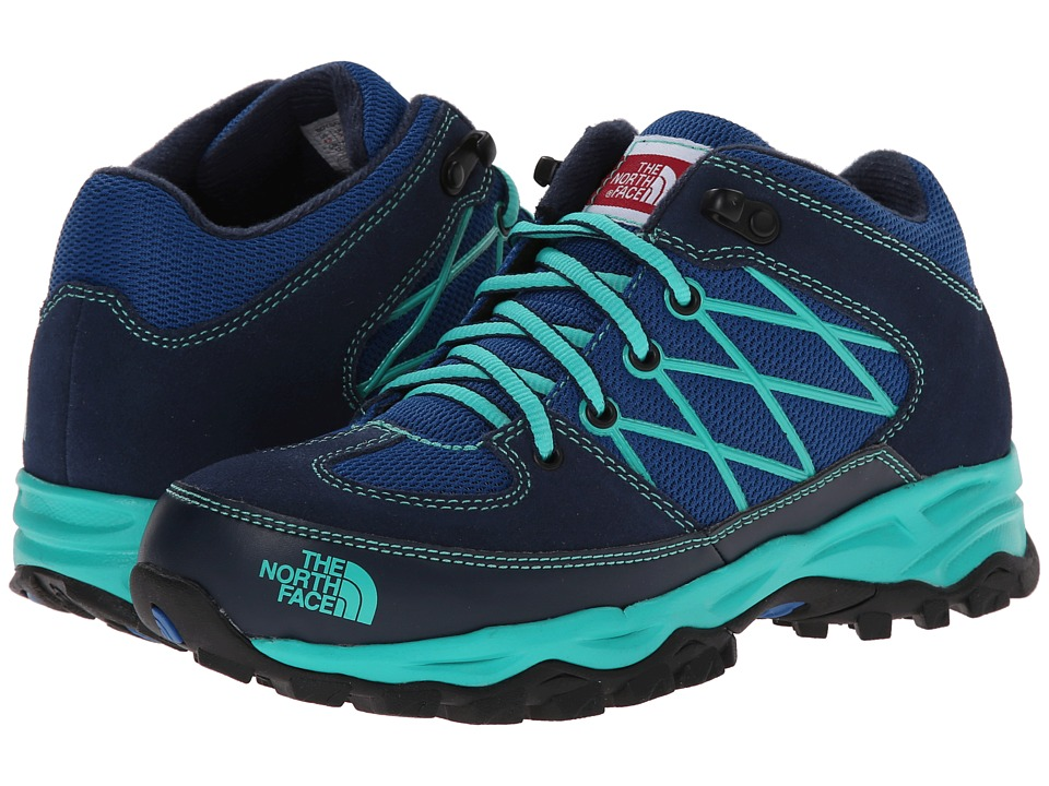 The North Face Kids - Storm (Toddler/Little Kid/Big Kid) (Snorkel Blue/Billiard Green) Boys Shoes