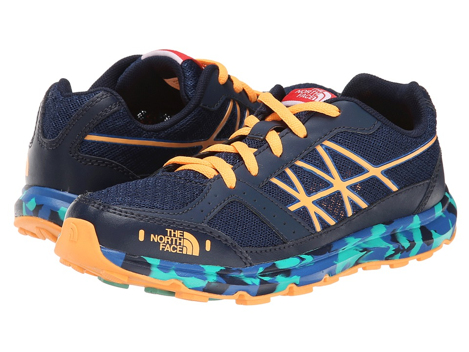 The North Face Kids - Betasso II (Little Kid/Big Kid) (Cosmic Blue/Vitamin C Orange) Boy