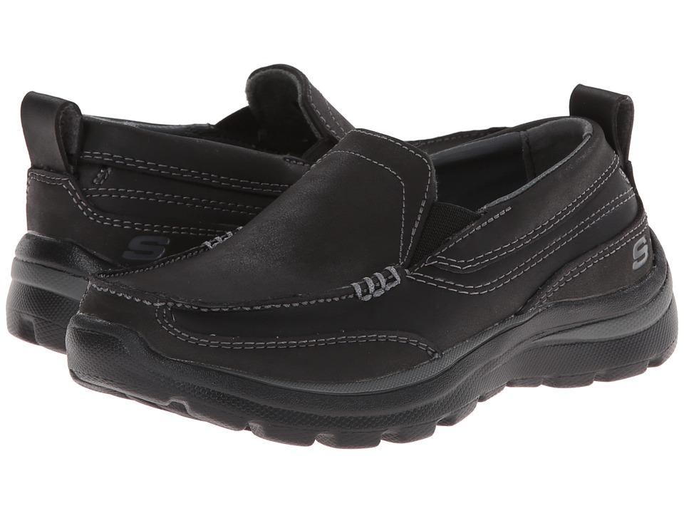 SKECHERS KIDS - Superior - Gains (Little Kid/Big Kid) (Black) Boy's Shoes