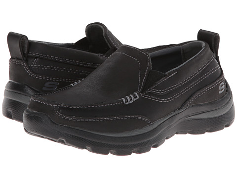 SKECHERS KIDS - Superior - Gains (Little Kid/Big Kid) (Black) Boy's Shoes