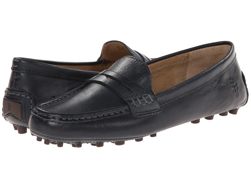 Frye - Rebecca Penny (Navy Smooth Vintage Leather) Women