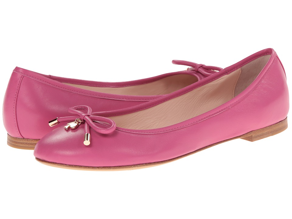 Kate Spade New York - Willa (Deep Pink Nappa) Women's Slip on Shoes