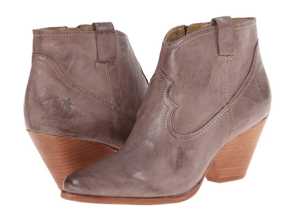 Frye - Reina Bootie (Grey Antique Soft Vintage) Cowboy Boots