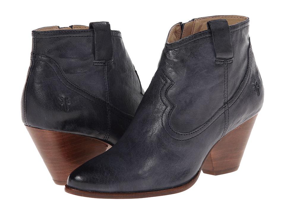 Frye - Reina Bootie (Indigo Antique Soft Vintage) Cowboy Boots