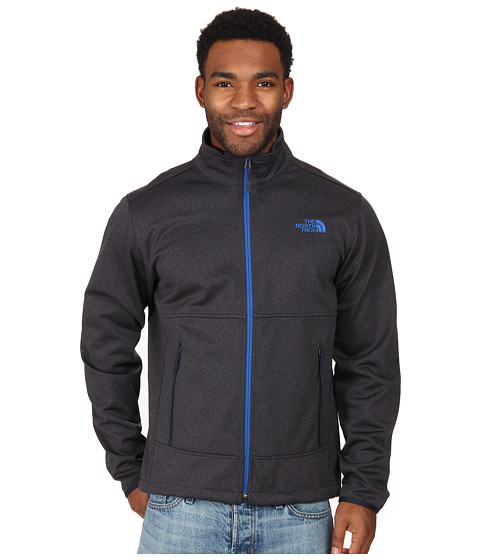 The North Face - Canyonwall Jacket (Outer Space Blue Heather) Men's Coat