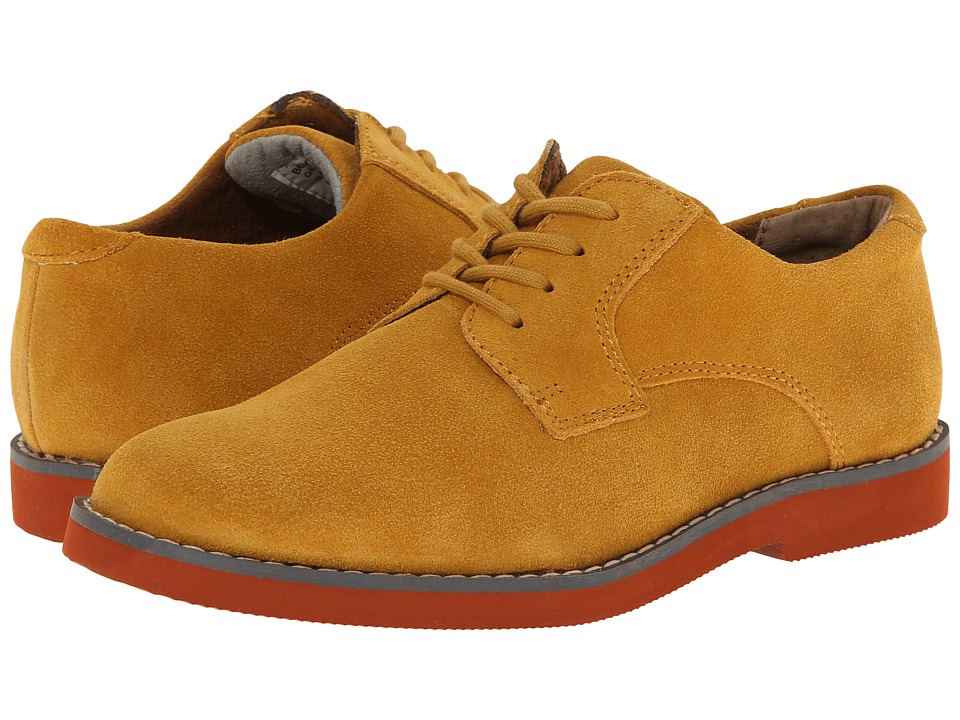 Florsheim Kids - Kearny Jr. (Toddler/Little Kid/Big Kid) (Mustard) Boys Shoes