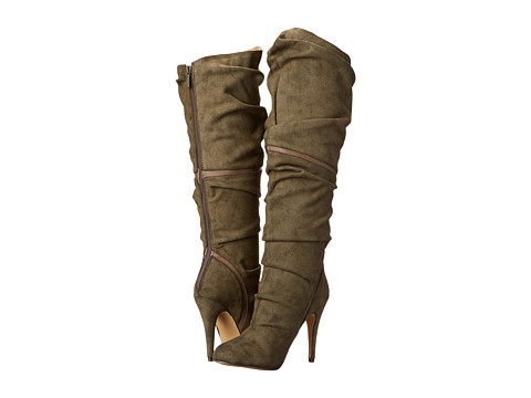 Michael Antonio - Ohio (Olive) Women's Dress Boots