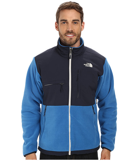 The North Face - Denali Jacket (Recycled Heron Blue/Outer Space Blue) Men's Coat