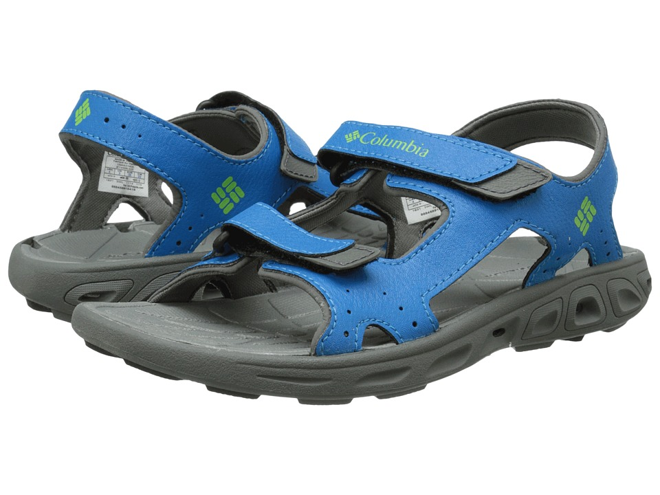 Columbia Kids - Techsun Vent (Toddler/Little Kid/Big Kid) (Dark Compass/Nuclear) Boy's Shoes