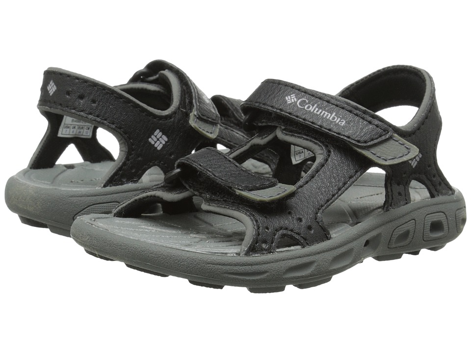 Columbia Kids - Techsun Vent (Toddler) (Black/Columbia Grey) Kid's Shoes