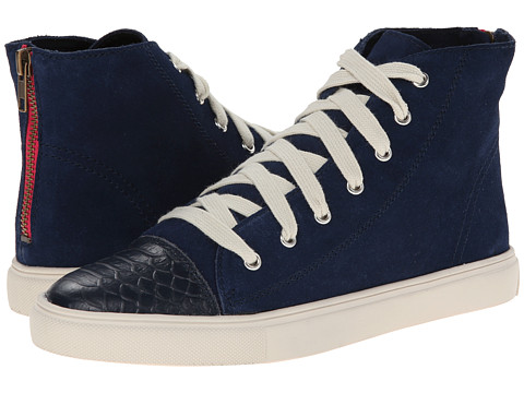 Steve Madden - Eastman (Navy Suede) Women's Shoes