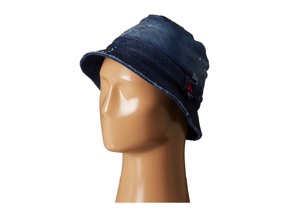 DSQUARED2 - Fishing Cap (Denim) Caps