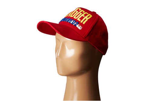 DSQUARED2 - Swagger Baseball Cap (Red) Baseball Caps