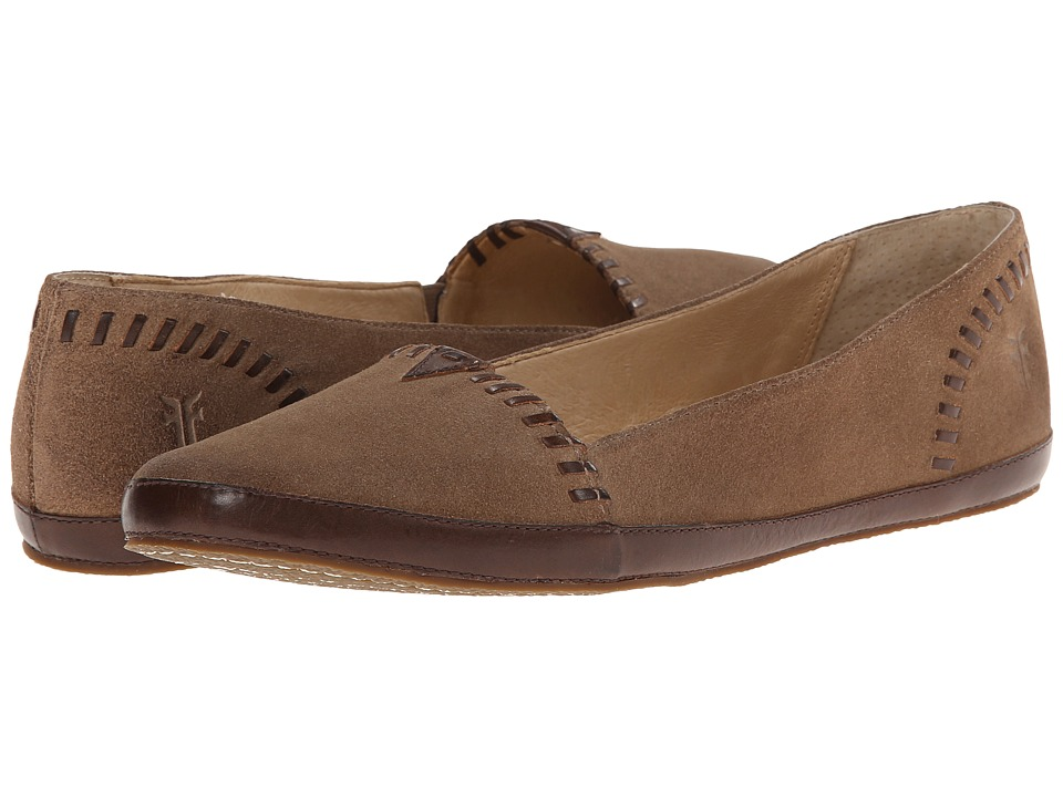 Frye - Tegan Bohemian A Line (Taupe Oiled Suede) Women