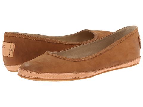 Frye - Tegan Ballet (Camel Buffed Nubuck) Women's Shoes
