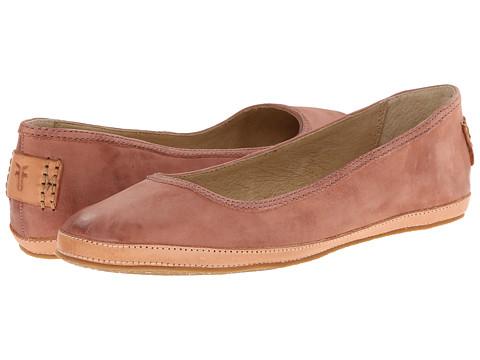 Frye - Tegan Ballet (Dusty Rose Buffed Nubuck) Women's Shoes