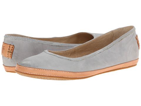 Frye - Tegan Ballet (Ice Buffed Nubuck) Women's Shoes