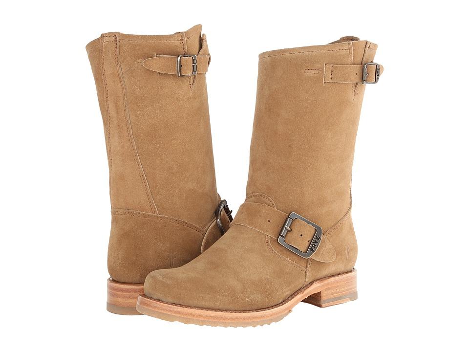 Frye - Veronica Shortie (Camel Oiled Suede) Cowboy Boots