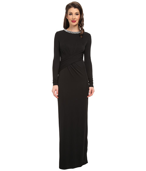 Ted Baker - Karynne Waist Detail Maxi Dress (Black) Women's Dress