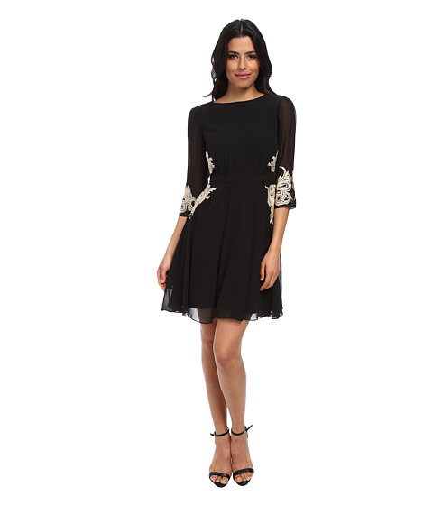 Ean 5053567780361 Ted Baker Gaenor Embroidered Detail Dress Black Women S Dress Upcitemdb Com