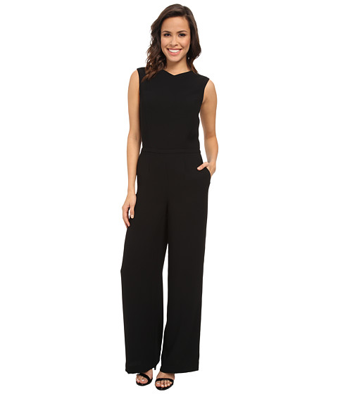 Ted Baker - Dammeta Sleeveless Jumpsuit (Black) Women's Jumpsuit & Rompers One Piece