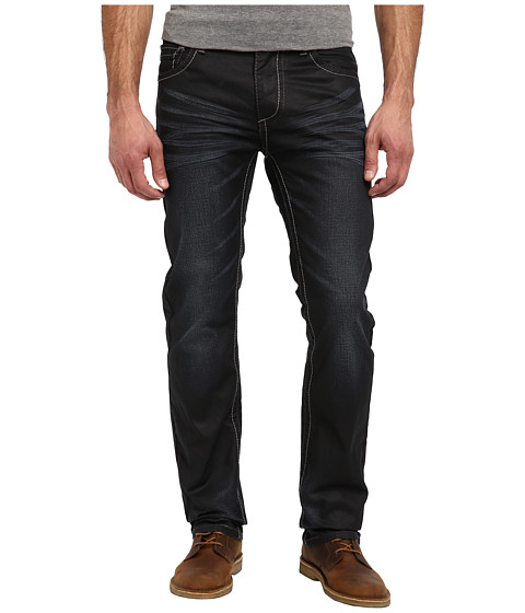 Antique Rivet - Joshua Straight Jeans in Wallace (Wallace) Men