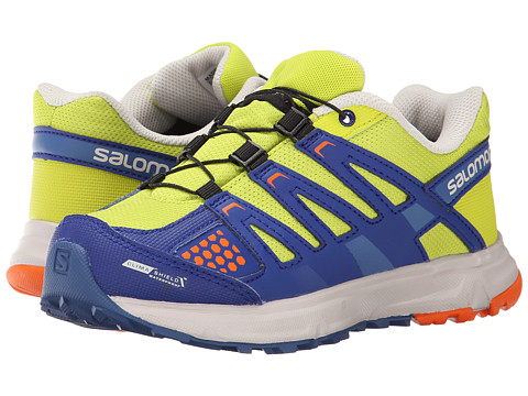 Salomon Kids - XR Mission Cswp (Little Kid/Big Kid) (Gecko Green/G Blue/Clementine-X) Kid
