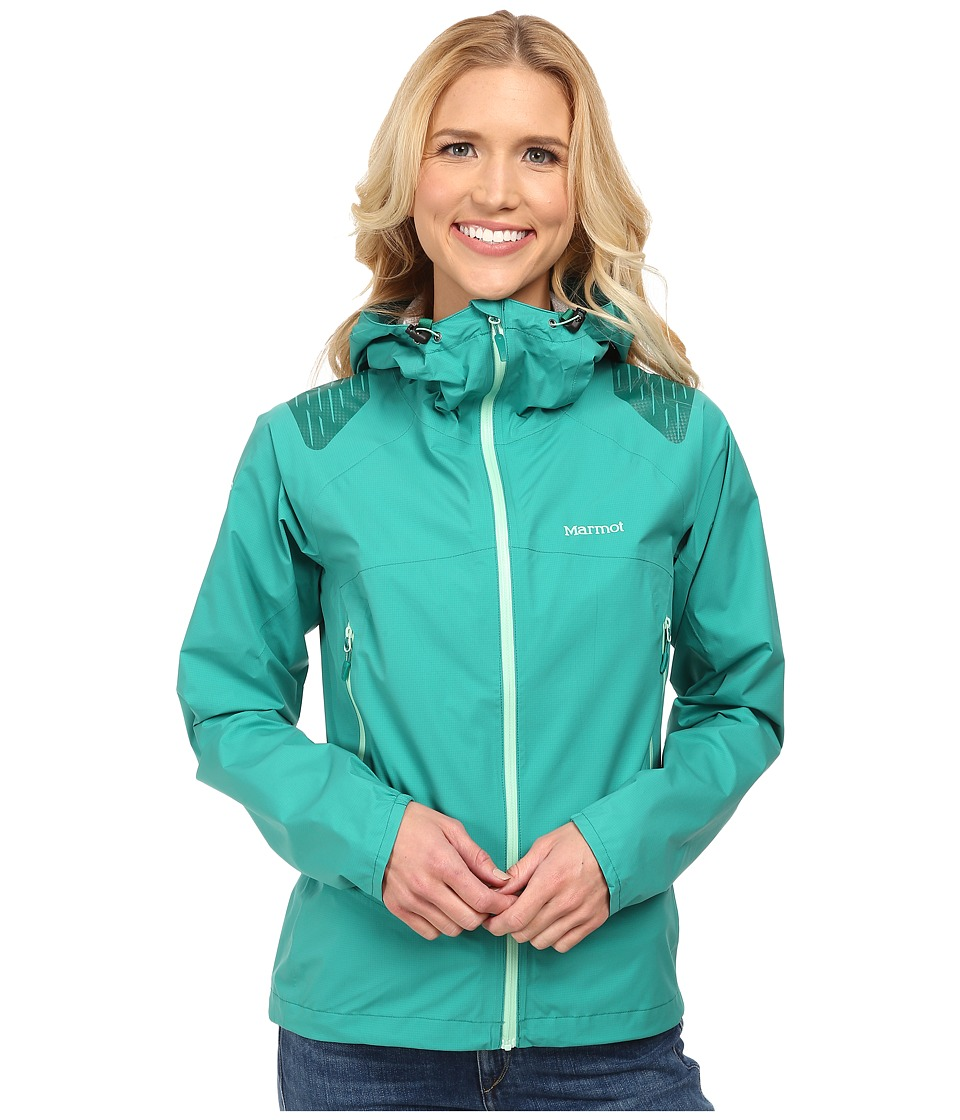 Marmot - Crux Jacket (Green Garnet) Women's Coat