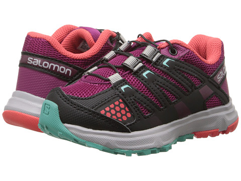 Salomon Kids - XR Mission (Toddler/Little Kid) (Mystic Purple/Black/Papaya-B) Girl's Shoes